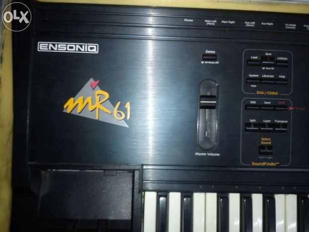 Teclado Ensoniq mr 61