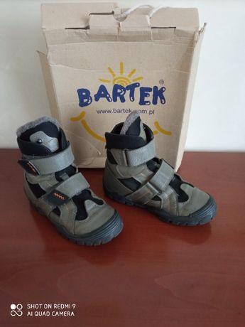 Сапоги-ботинки зимние Bartek 33 р (по стельке 21 см) б/у