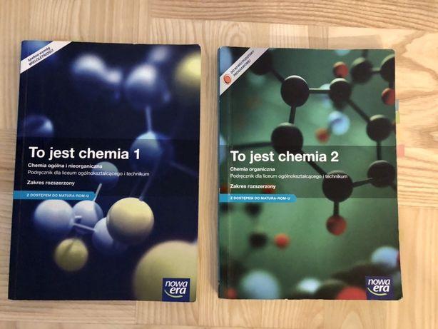 To jest chemia 1 i 2 Nowa Era podręczniki zakres rozszerzony
