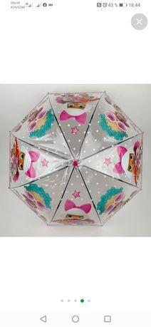 Зонт-трость/классный зонт/зонт лол/прозрачный