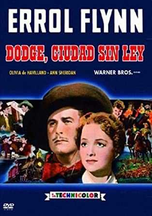 Dodge, Ciudad Sin Ley/Vida Nova-Ed. Espanhola c/Errol Flynn
