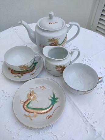 Chávena /Bule  de louça chinesa