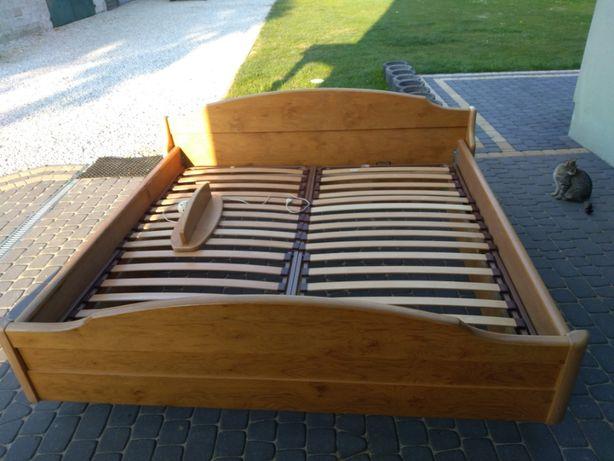 Łóżko dębowe 200x200