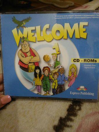 Диски к учебнику английского языка Welcome 1