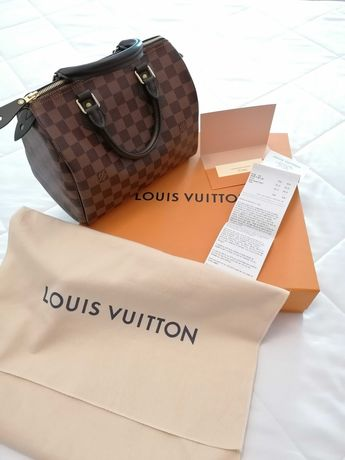 Speedy 25 damier ebene nova Louis Vuitton