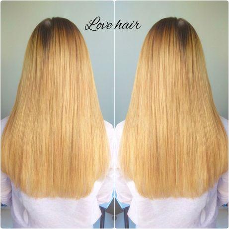 Наращивание волос. Коррекция волос. Снятие