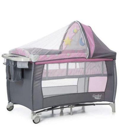 Дитяче ліжко-манеж MOOLINO HAPPY+Колиска