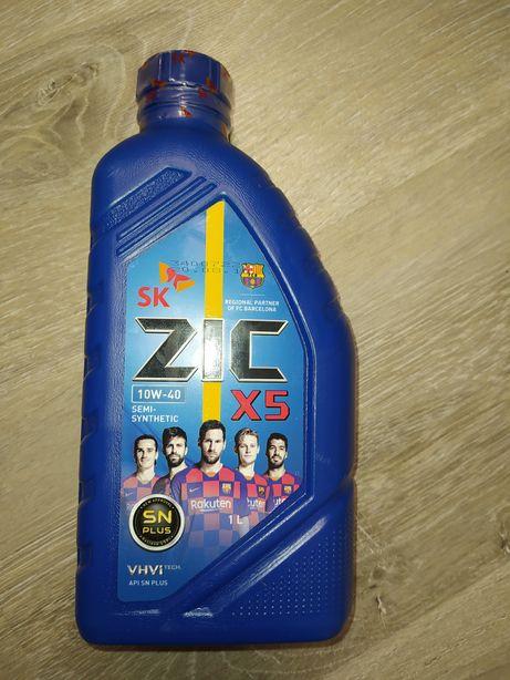 Моторное масло ZIC 10W-40 1л