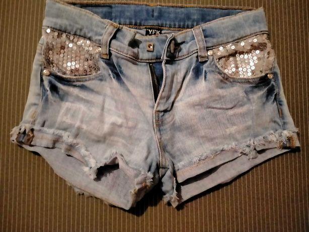 Шорты   джинсовые   146р