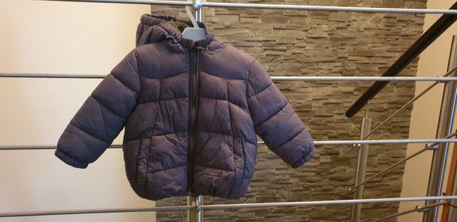 kurtka zimowa, pikowana ZARA rozm. 86