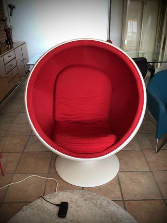 Cadeiras Cadeirões Ball chair Ed Pauly Starck Pedralli Oriental area