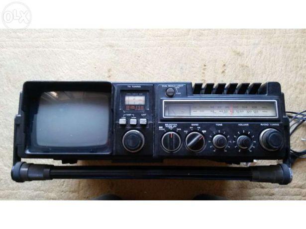 Tv-fm/sw/mw radio cassette recorder