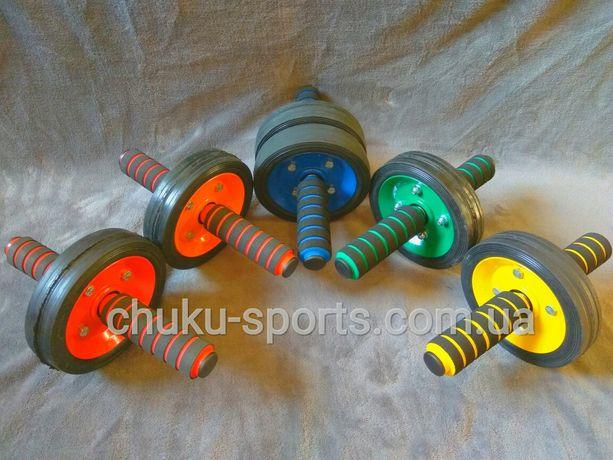 Колесо / Ролик / Тренажёр для пресса (с одним и двумя колесами) V2.0
