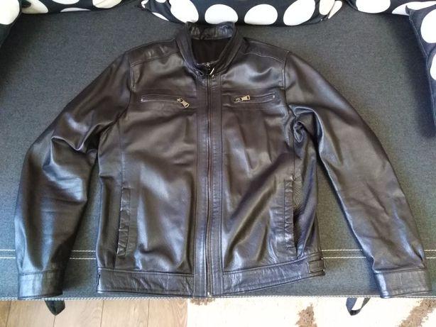 Куртка кожаная Virado.