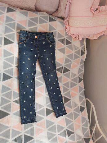 NOWE jeansy/spodnie dżinsowe 116 NEXT