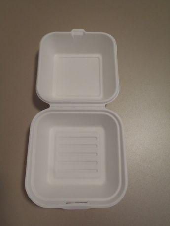 Pojemnik hamburger 450ml opakowanie na wynos EKO 50szt