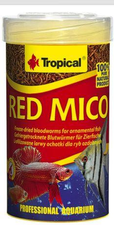 Tropical red mico 100 ml - Ochotka liofilizowana