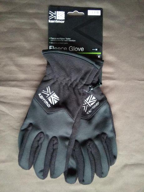 Перчатки Karrimor флисовые мужские зимние черные оригинал