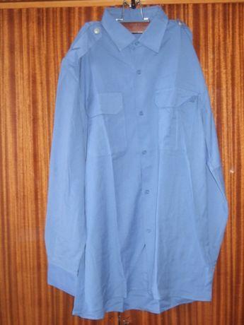 Сорочка міліцейська з довгим рукавом, рубашка милицейская
