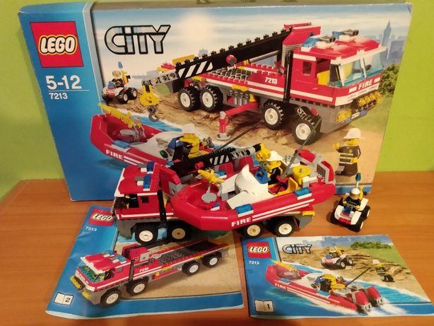 LEGO CITY 7213 terenowy wóz strażacki