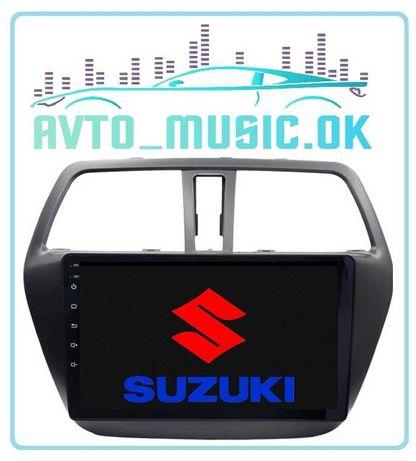 Магнитола SUZUKI SX4, Android, USB, GPS, 4G!