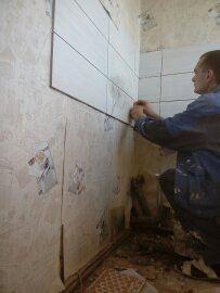 укладка робочих стен