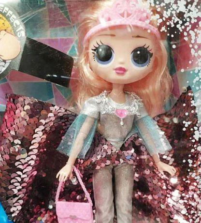 Кукла для детей в платье, айсберг с подсветкой Кукла для девочек