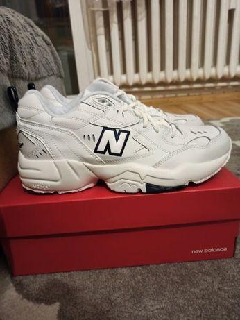 Nowe białe buty New Balance MX608 rozmiar 42,5