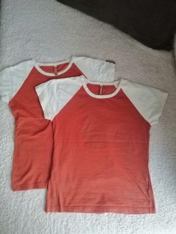 Dwa T-shirty 158cm