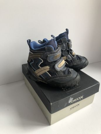 Демисезонные ботинки geox 21 размер