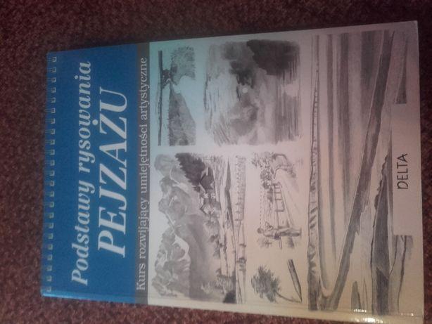 Książka podstawy rysowania pejzażu