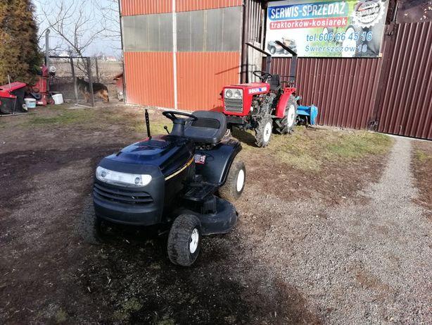 Kosiarka traktorek husqvarna 15 hp