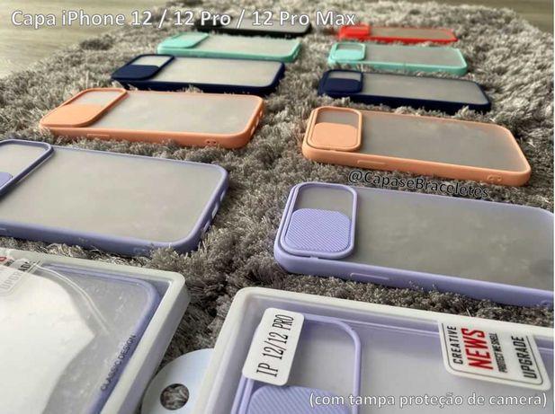 Capa iPhone 12 Series c/ proteção de camera