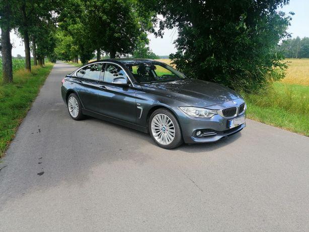 Auto do ślubu samochód do ślubu BMW 420d wynajem