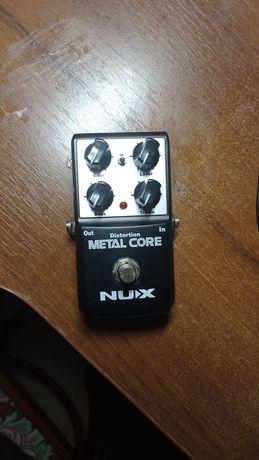 Педаль ефектів, дісторшин Nux metal core
