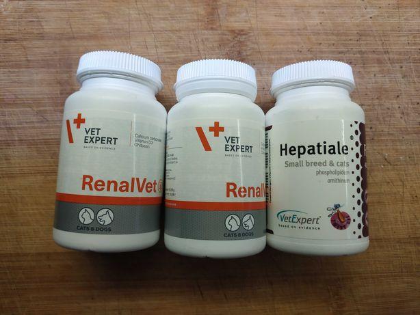 Renalvet i Hepatiale dla kota/psa