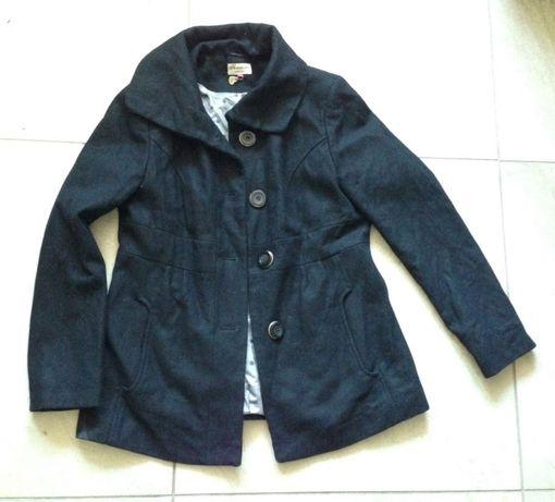 Płaszcz krótki czarny 40/L C&A