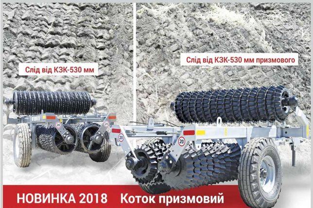"""Каток грунтообробний КЗК """"CLEAVER"""" 6М"""
