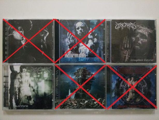 Cds de Black Metal (e suas variantes) Vários preços!!