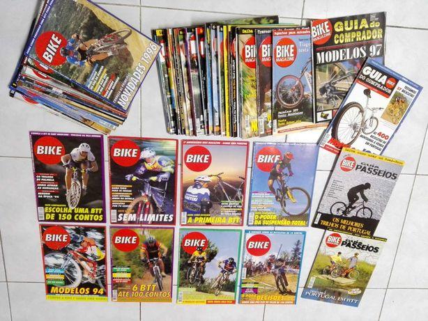 Revistas BIKE MAGAZINE do nº1 ao 50 mais anuarios e guias
