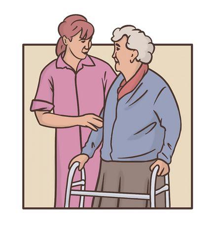Сиделка по уходу за больными/инвалидами/пожилыми. Больница/Ночь
