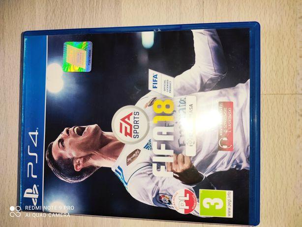 Fifa 18 PS4 Polska Wersja