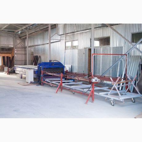 Терміново продається лінія для виготовлення металочерепиці
