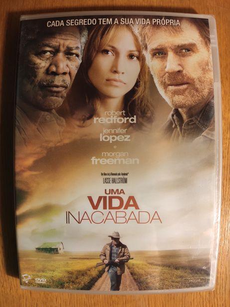 "DVD ""Uma Vida Inacabada"""