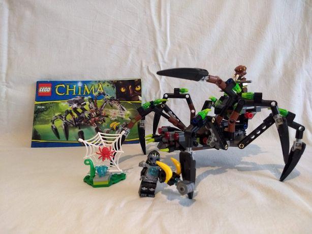 LEGO Chima 70130 komplet instrukcja bez pudełka