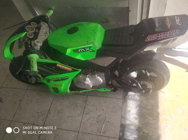 Mini moto pista 110cc