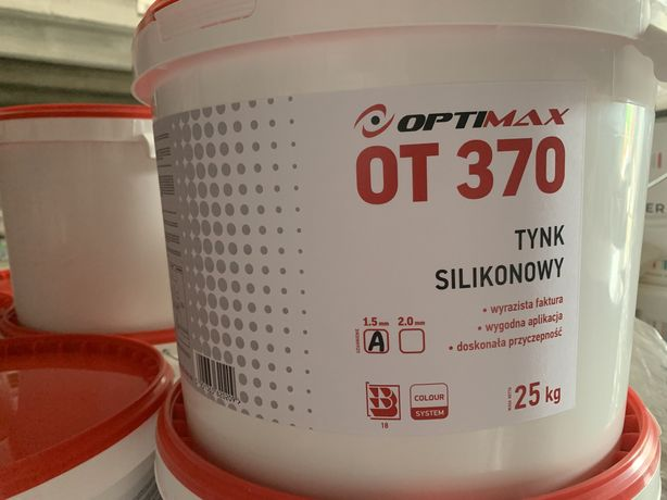 Tynk silikonowy Optimax OT370