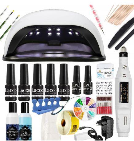 Zestaw do hybryd lampa UV LED 54W +frezarka+gratis