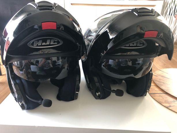 Kask szczękowy HJC RPHA MAX EVO S , XL komunikator
