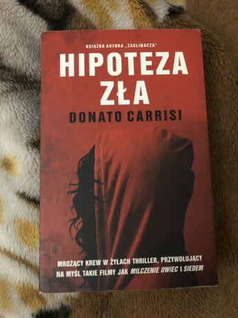 Książka ,,Hipoteza zła'' Donato Carrasi